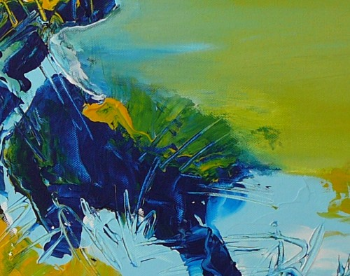 abstract Water 60x80