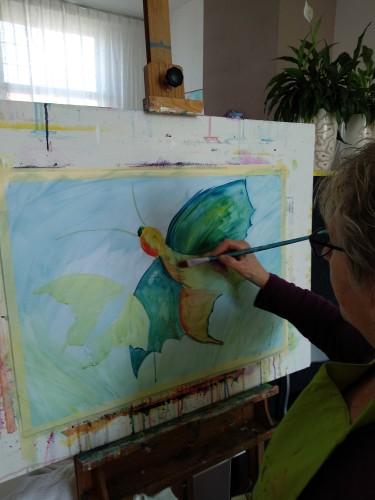 schildercursus intuïtief volwassenen