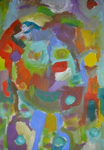 kindercursus (zelfportret)