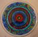 workshop meditatief schilderen glazen bord/glasverf